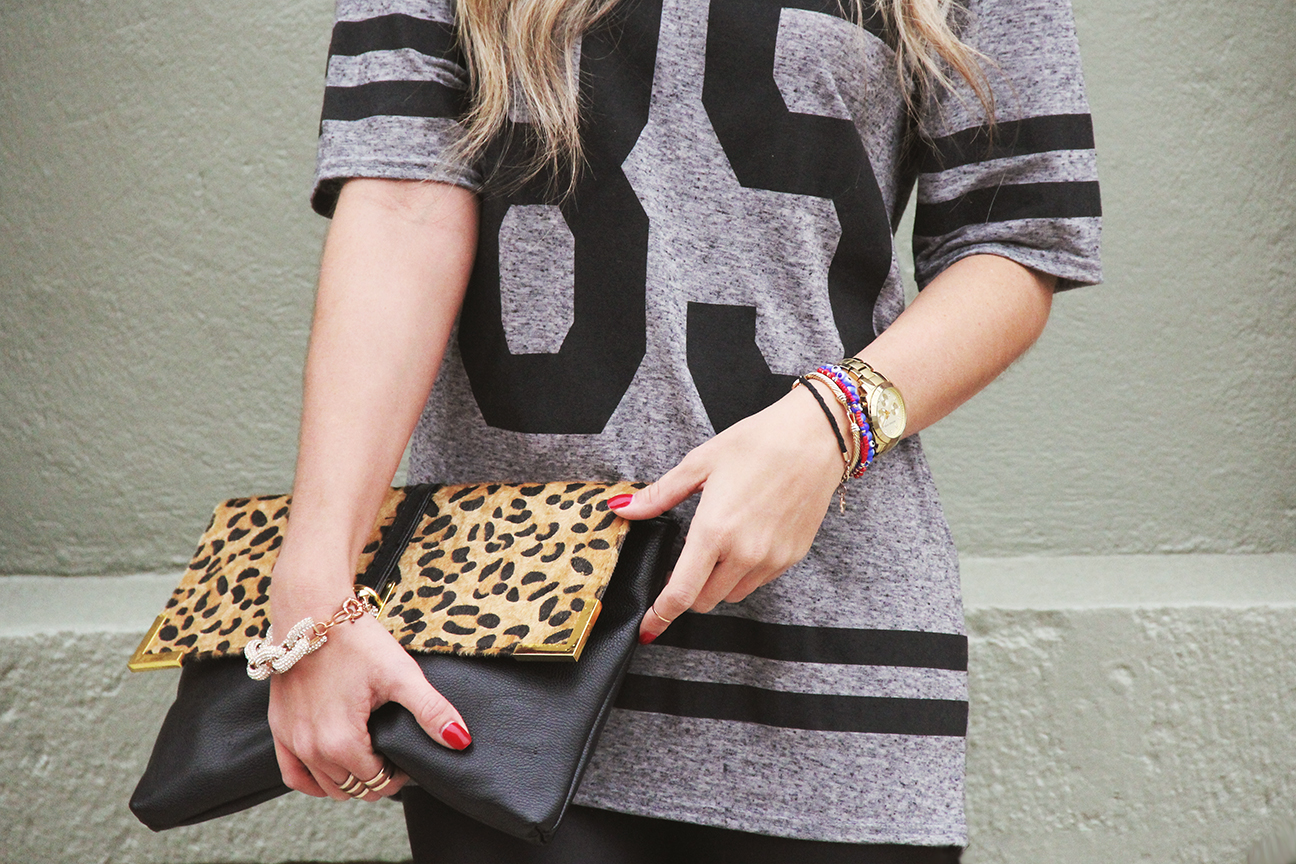 leopard clutch nordstrom