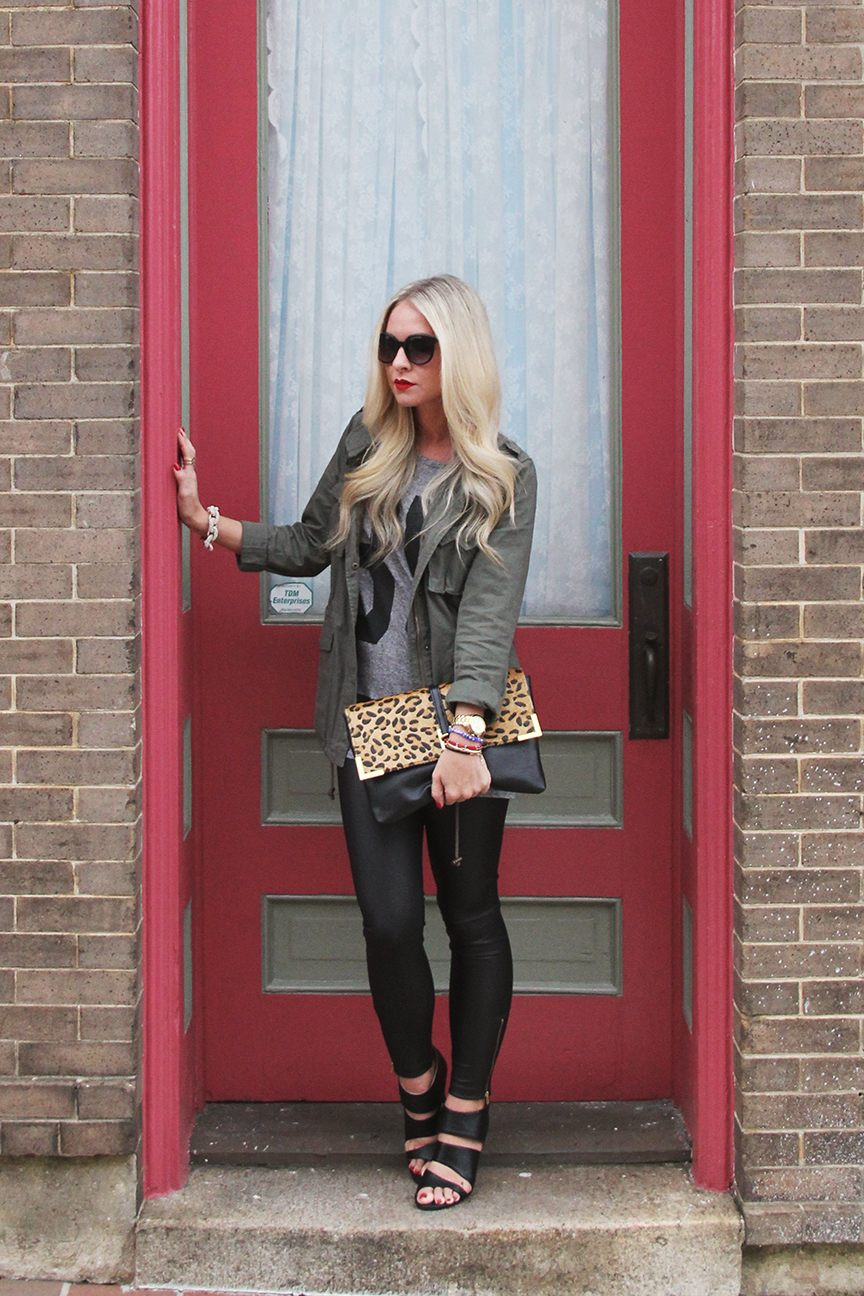 hot to style leather leggings