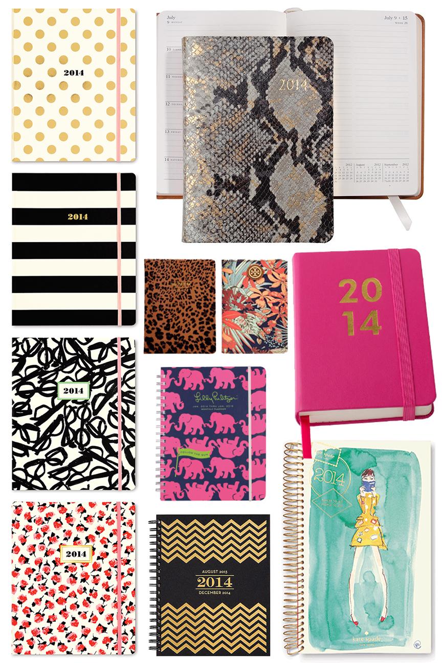 2014 Kate Spade Planner Agenda