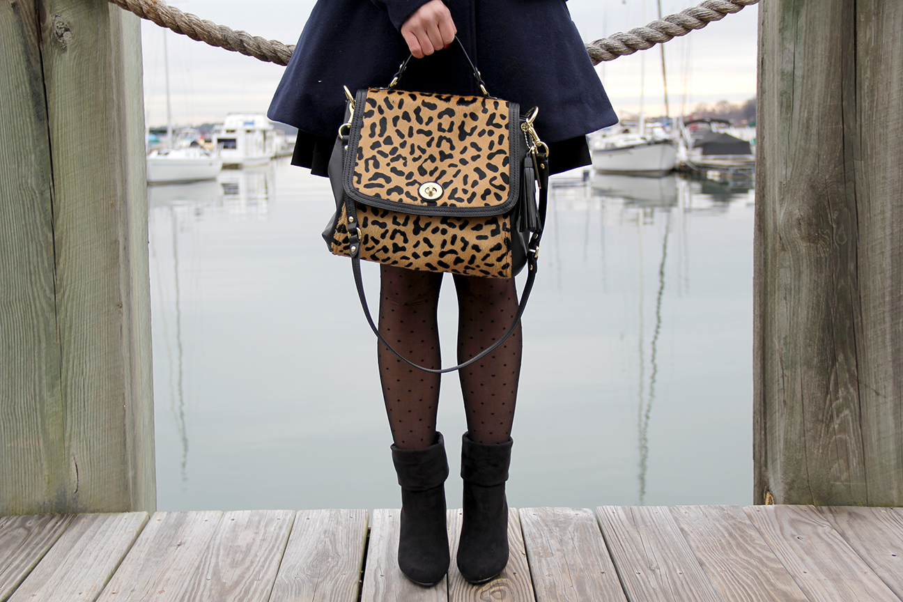 Coach Leopard Ocelot Bag