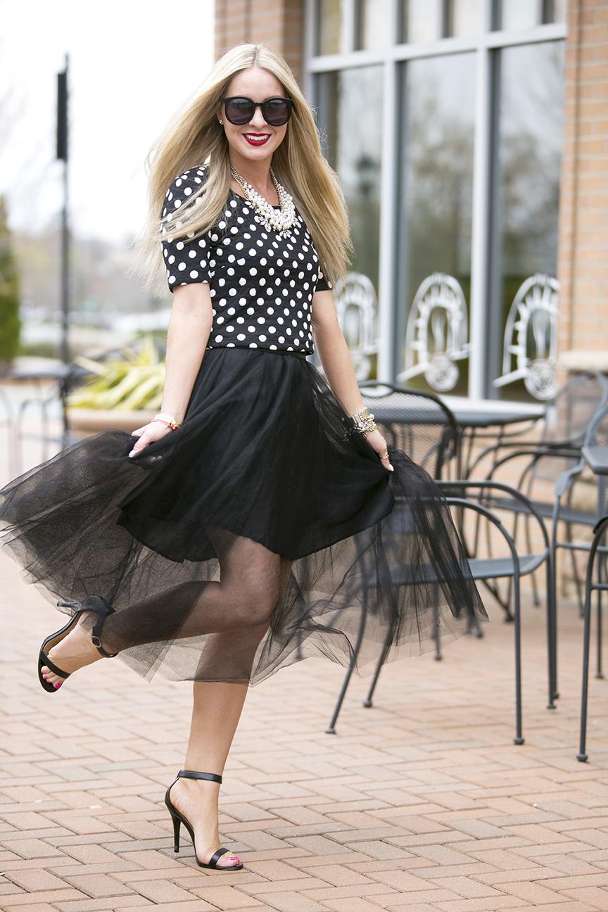 The Girl That Loves Tulle Skirt