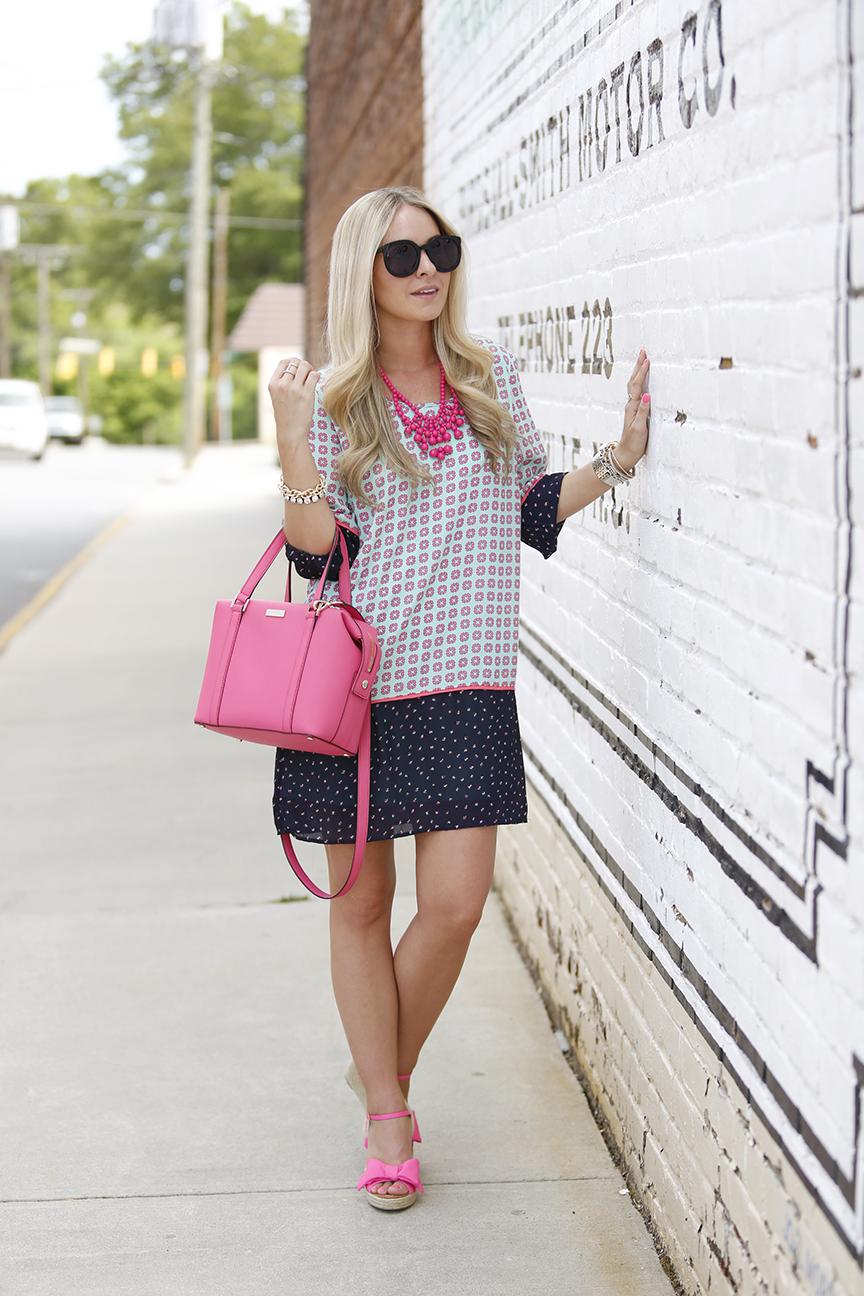 Pink Kate Spade Jumper Sandals