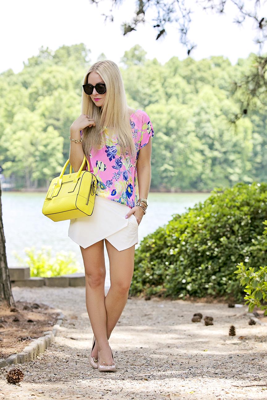 Yellow Kate Spade Bag