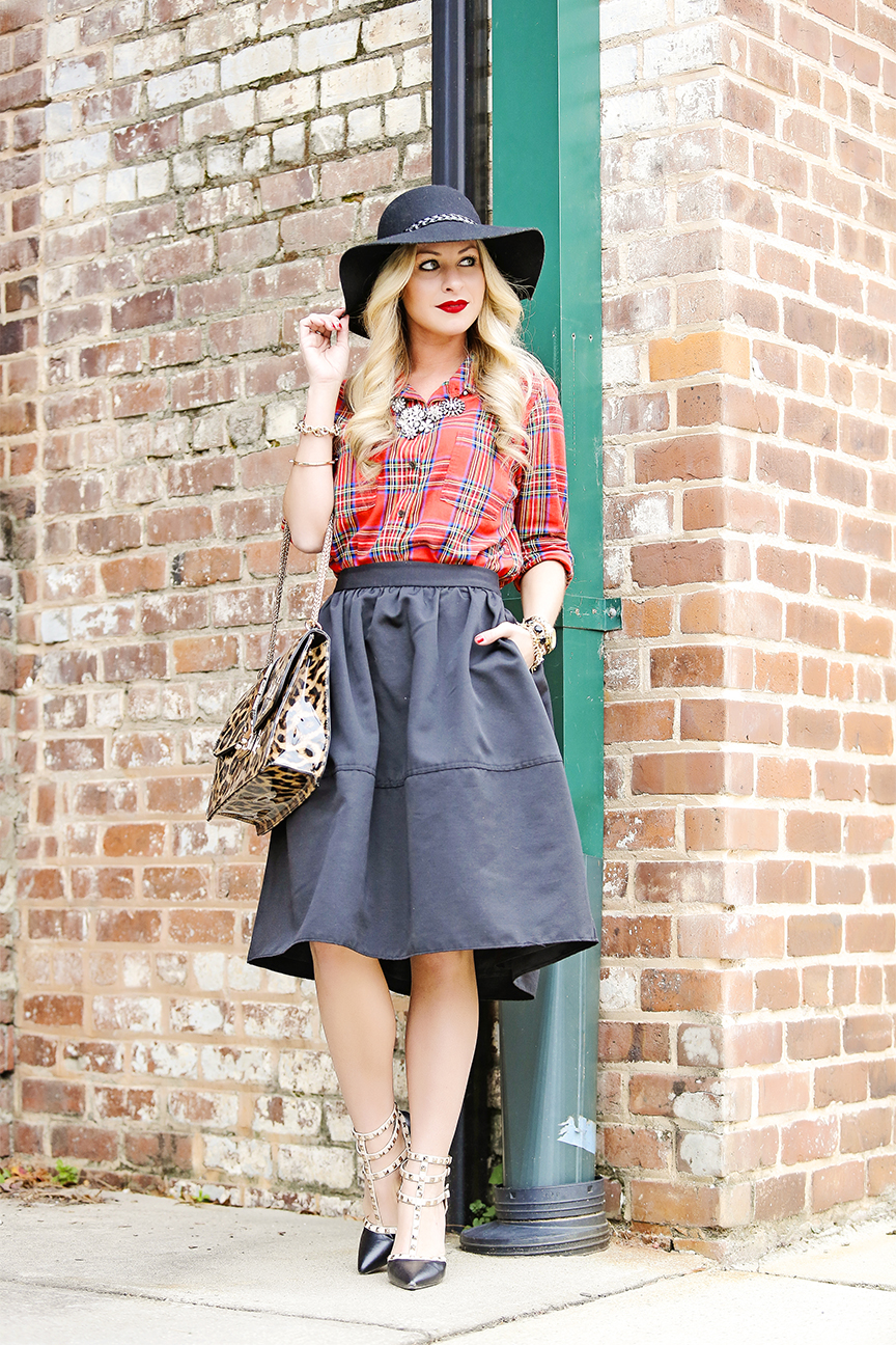 express full midi skirt