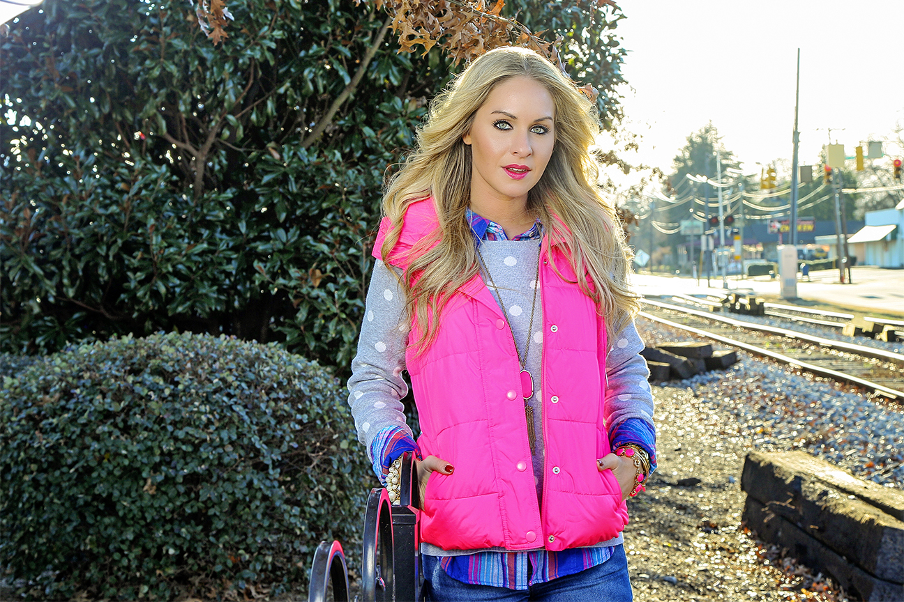 Neon Pink Frost Free Vest