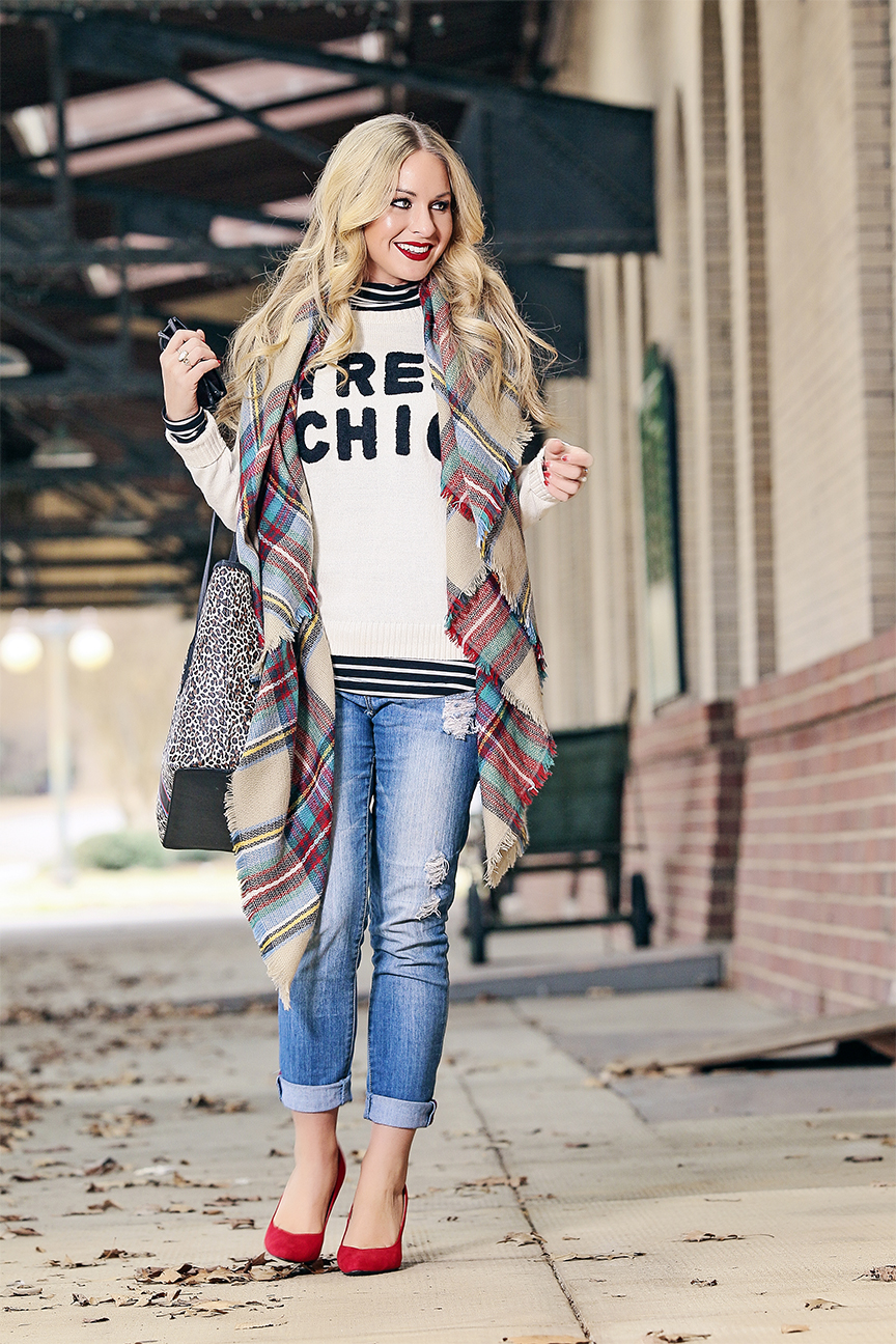forever 21 tres chic sweater