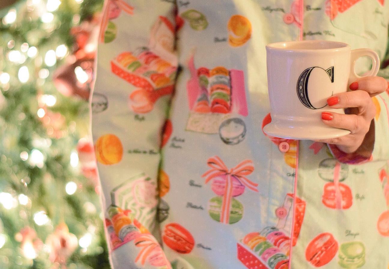 macaron pajamas