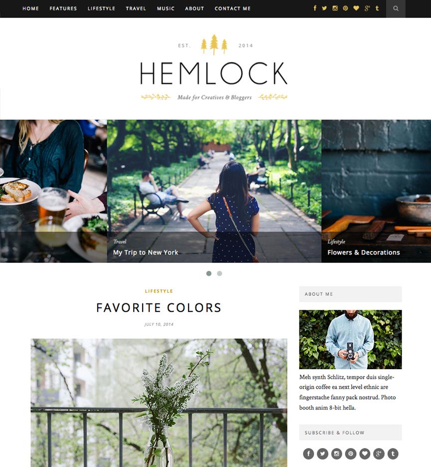 Blog Hemlock