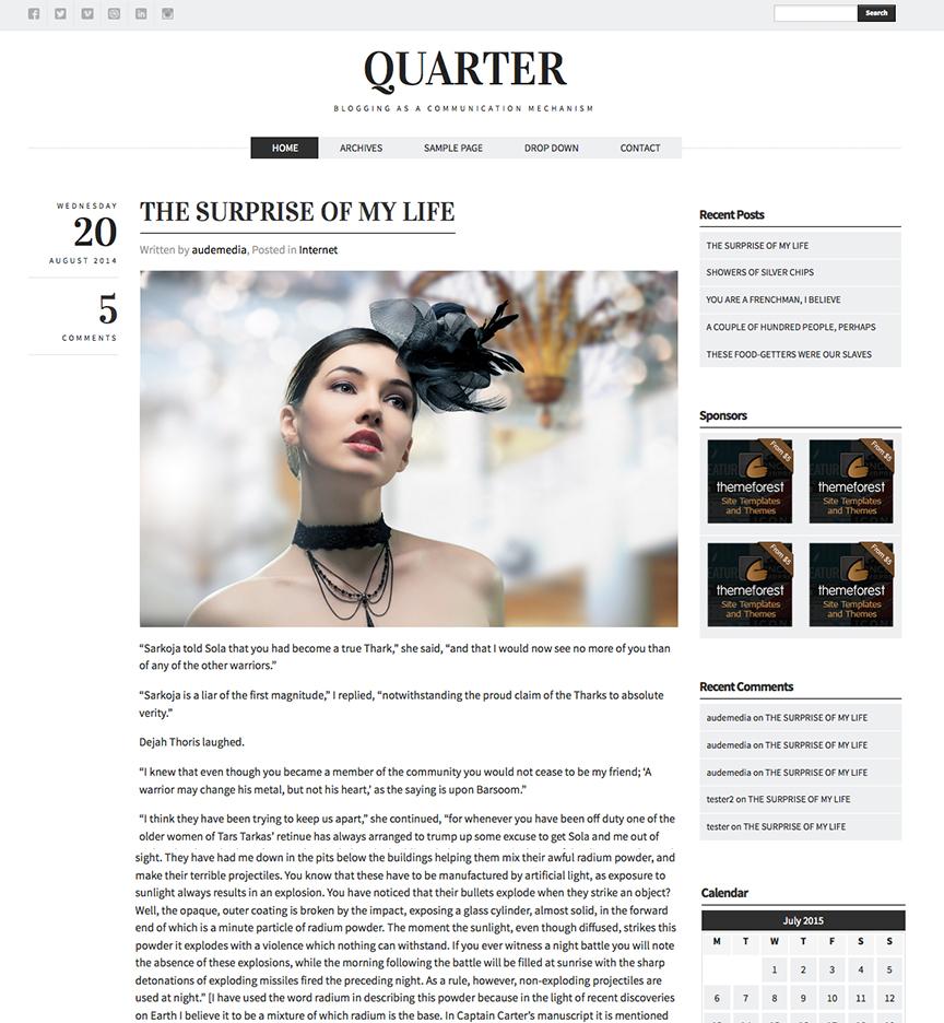 Blog Quarter