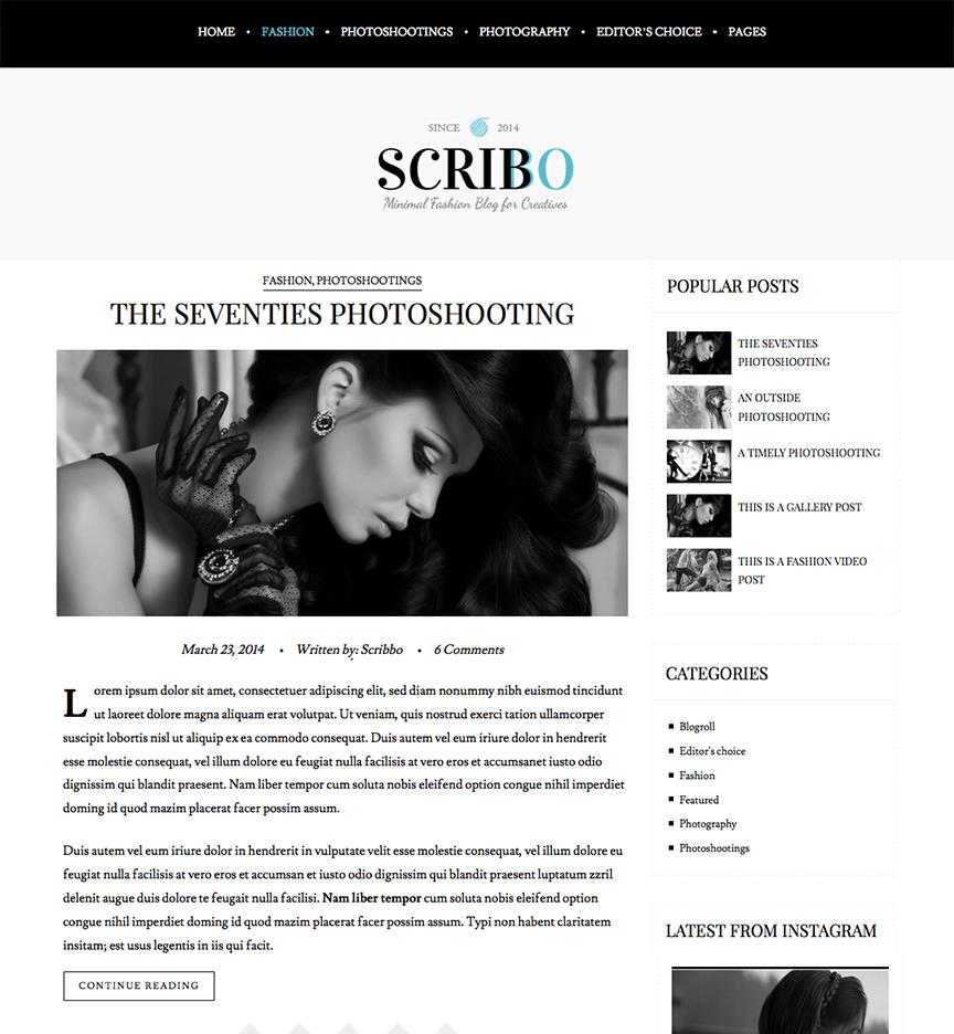 Blog Scribo