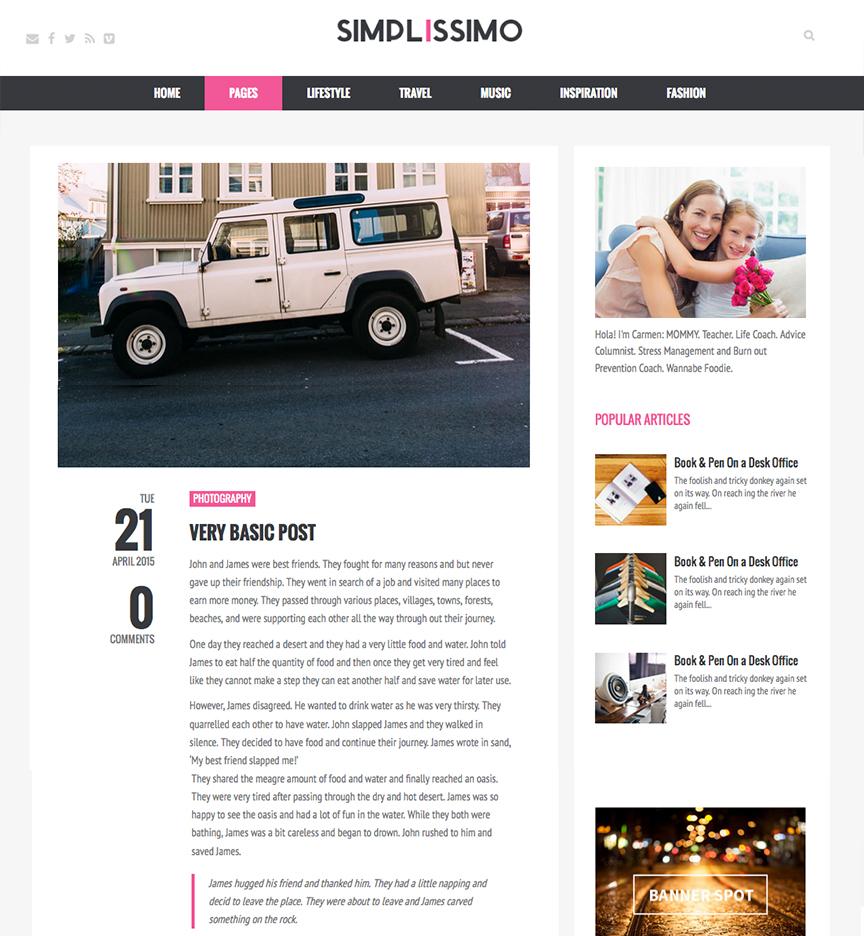 Blog Simplissmo