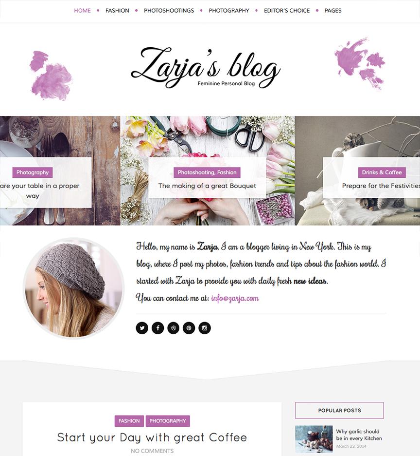 Blog Zarja