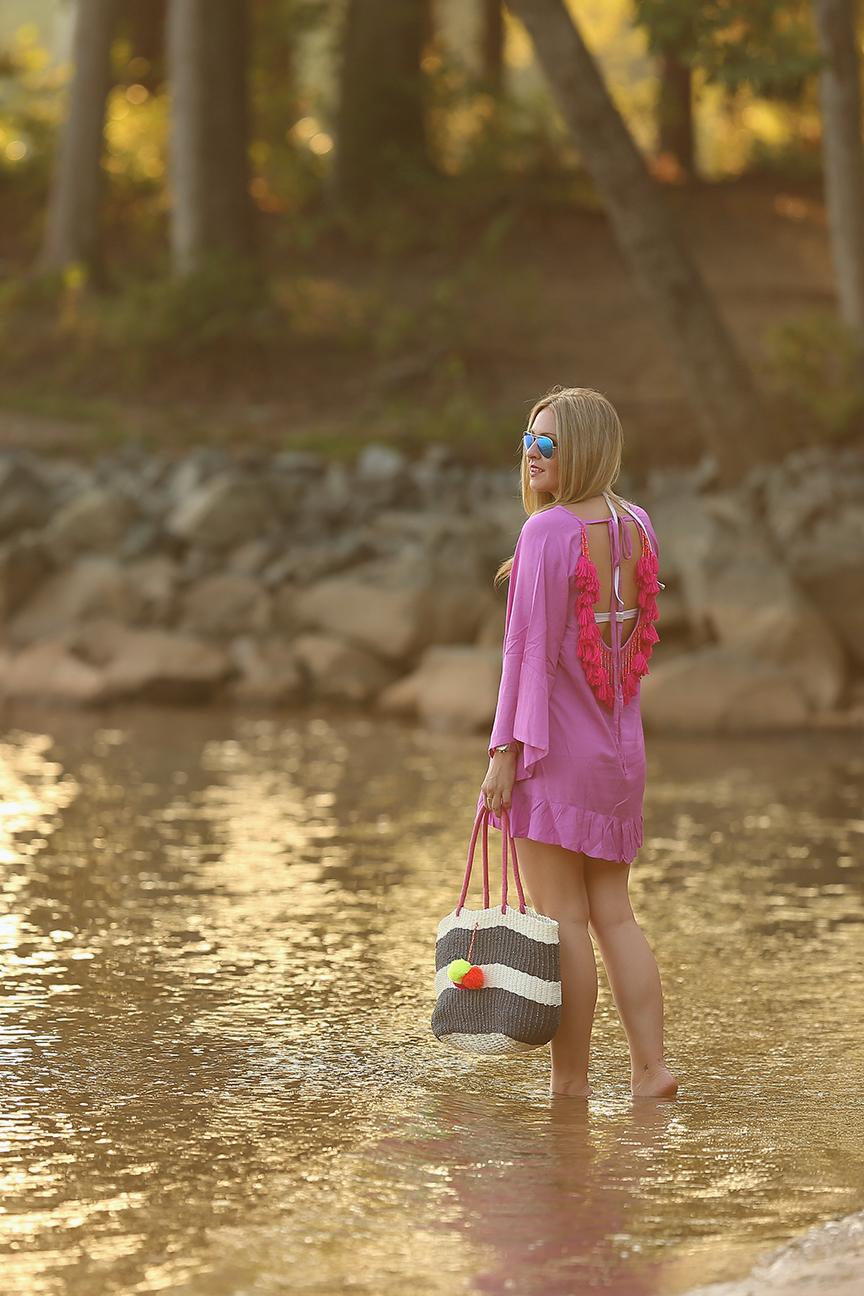sundress alaia short dress