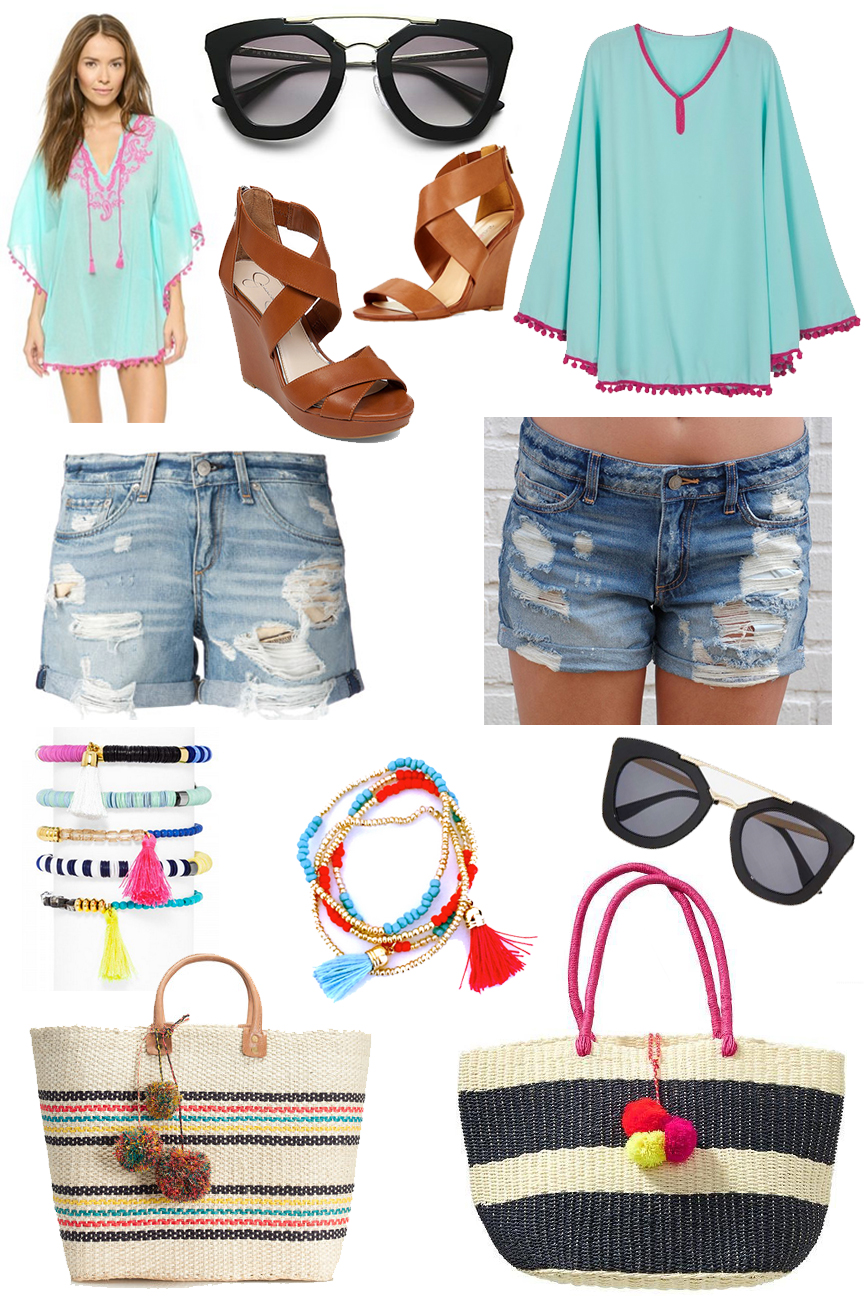 Splurge vs Steal Summer Fashion