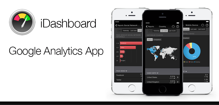idashboard app for iphone, google analytics