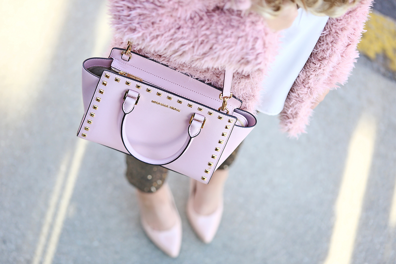 Studded Michael Kors Bag