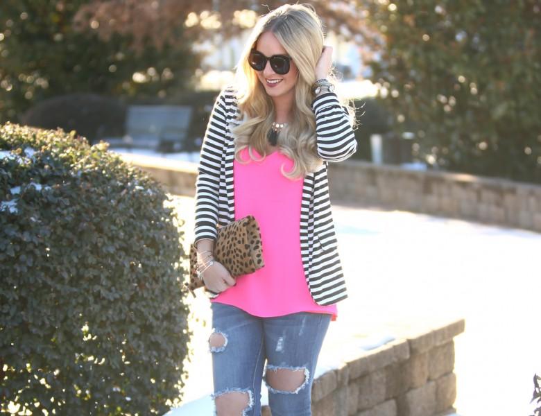 Pink Stripes 4
