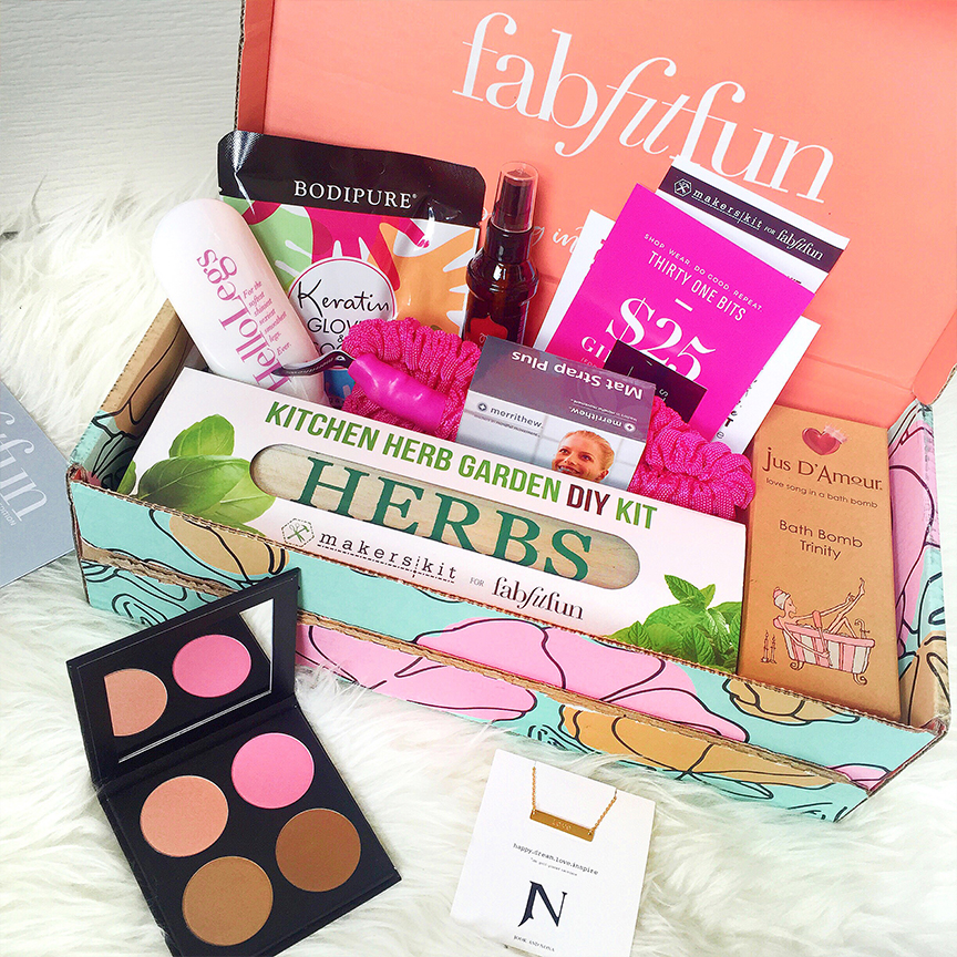 fab fit fun spring box review