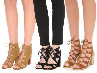 Lace Up Sandals 1