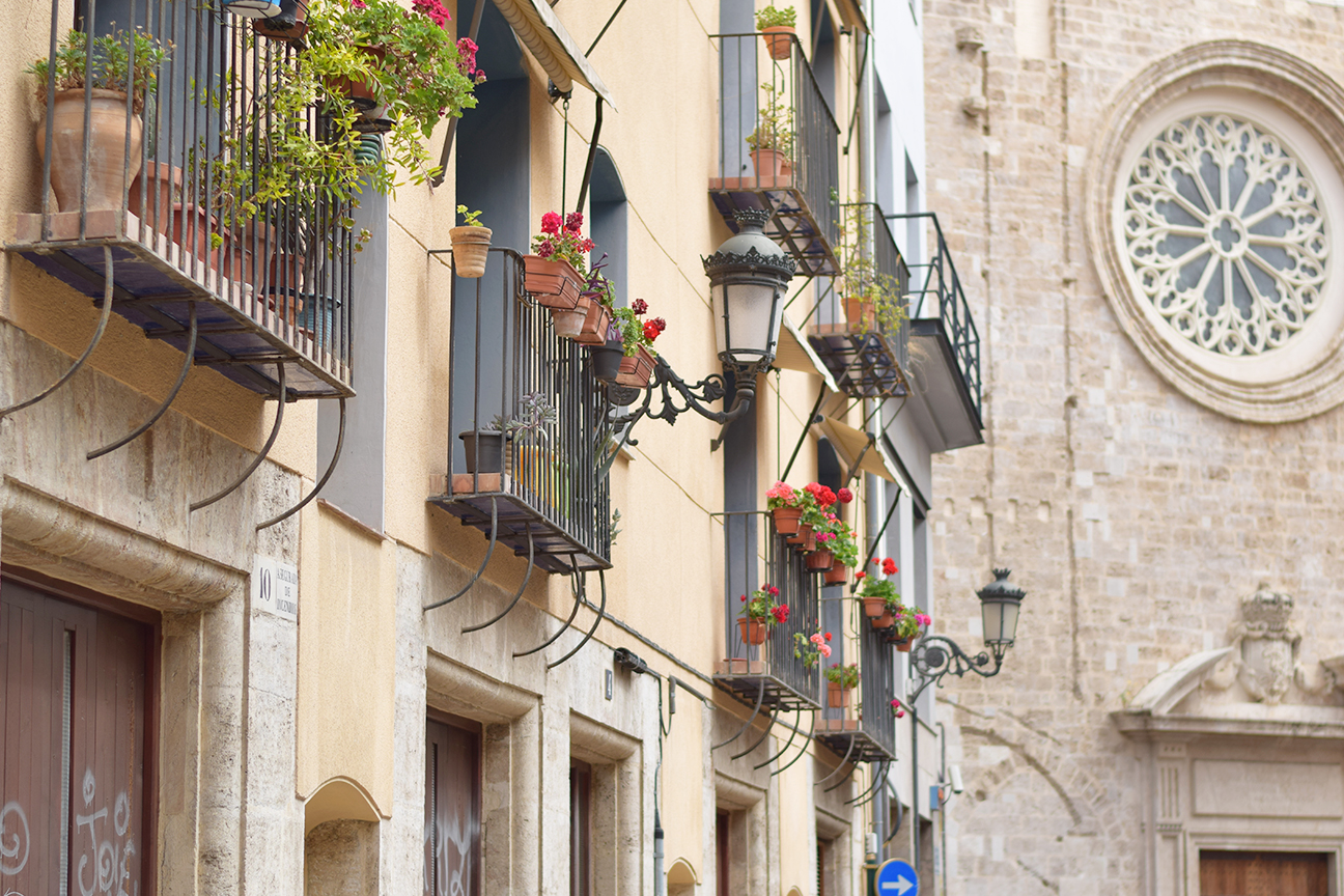 old town valencia spain