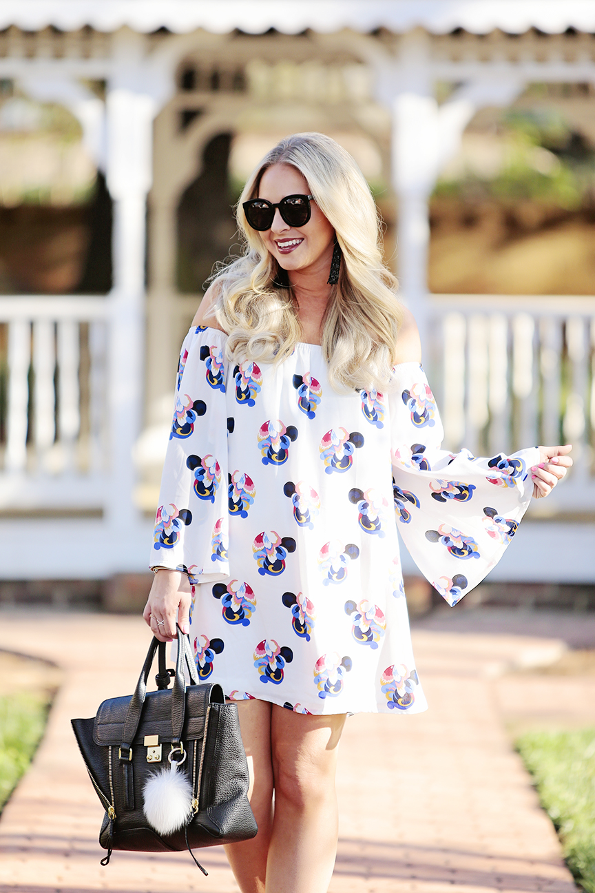 White Off the Shoulder Dress 4