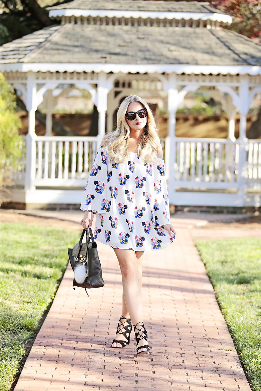 White Off the Shoulder Dress 5