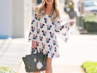 White Off the Shoulder Dress 8
