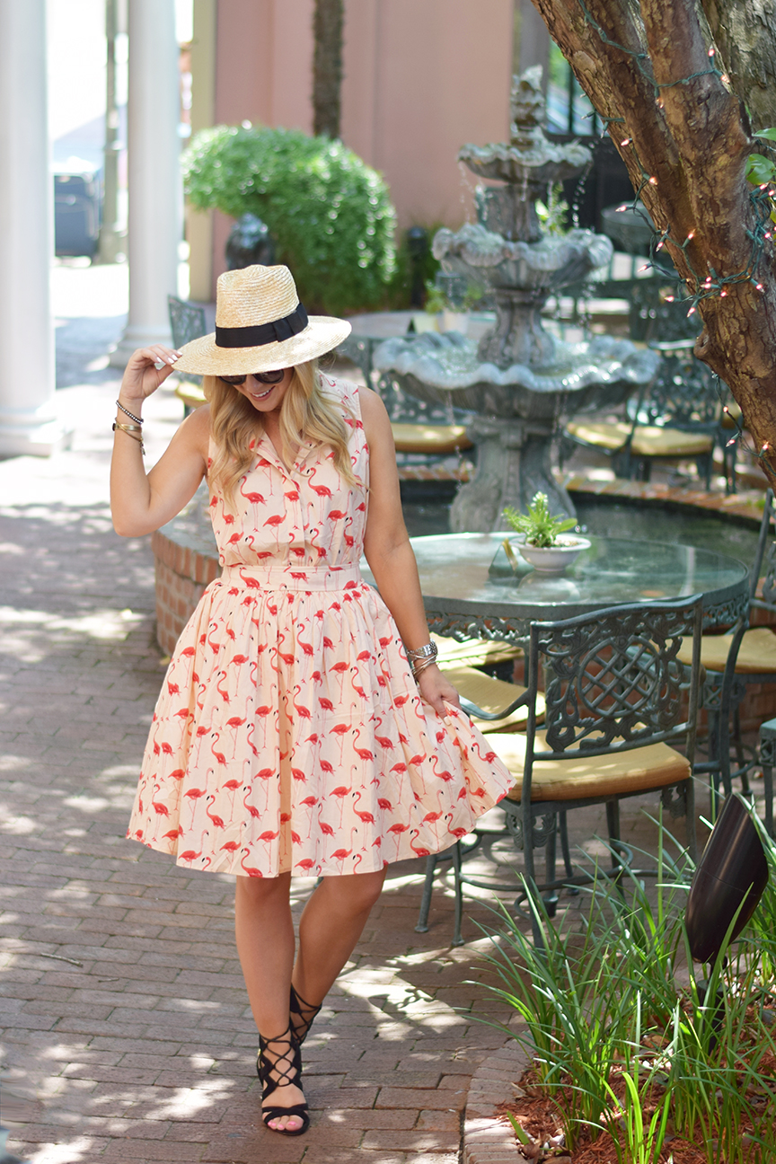 Chicwish Flamingo Dress 6
