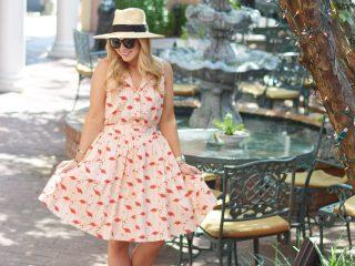 Chicwish Flamingo Dress 8
