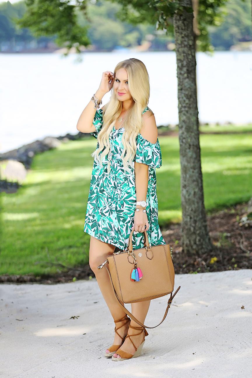 Leaf Print Dress 6