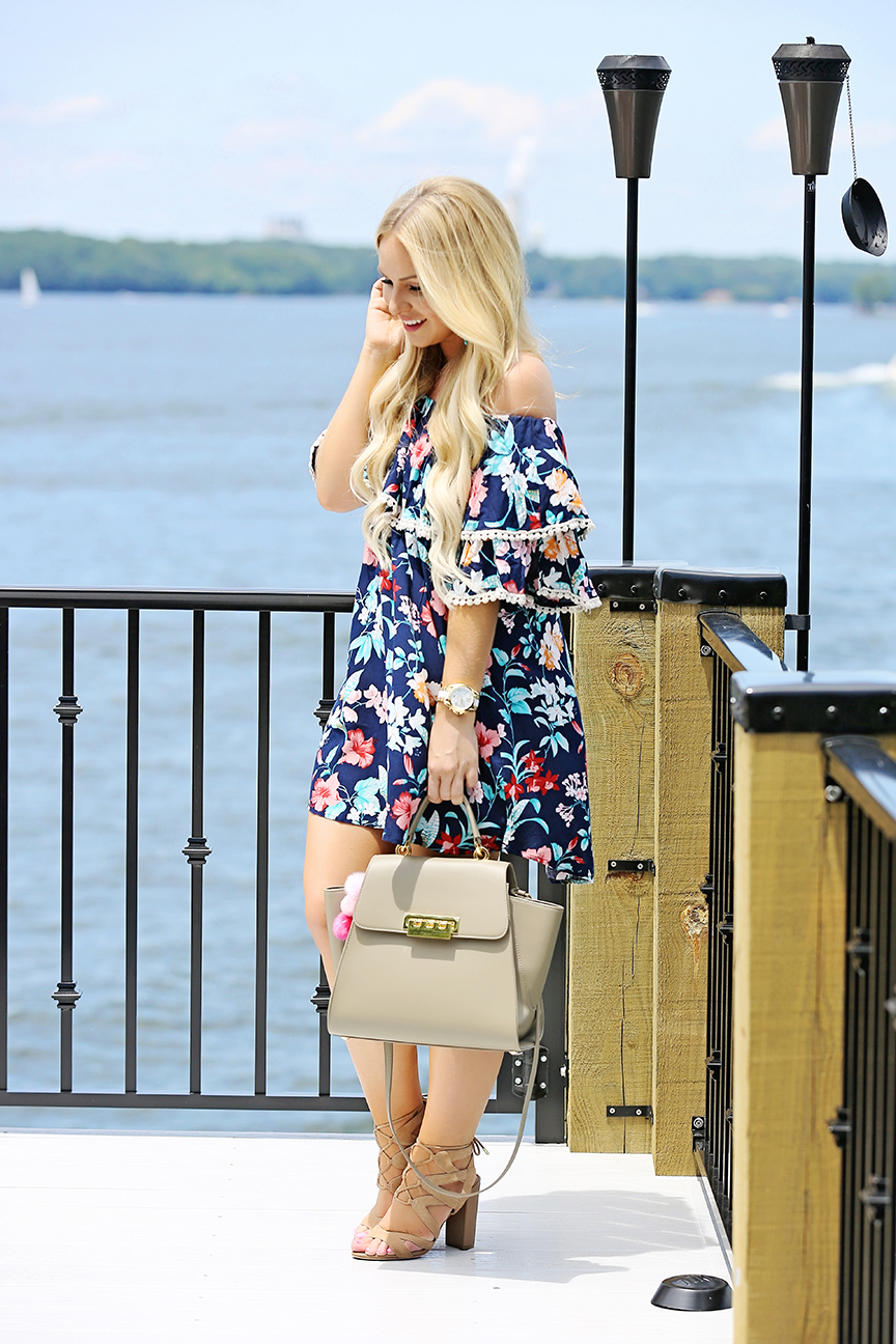Tropical Print Dress 3