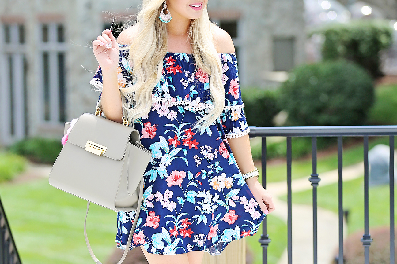 Tropical Print Dress 5