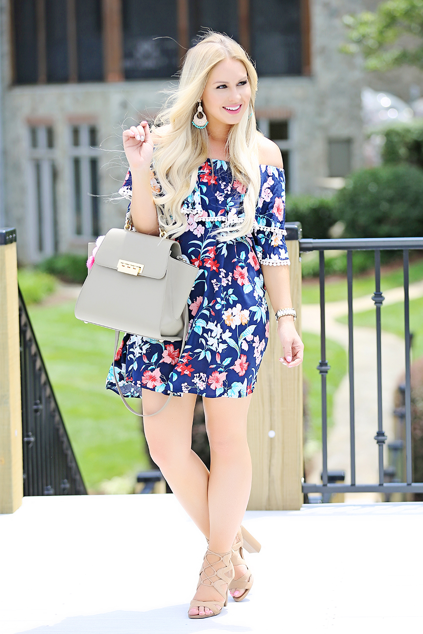 Tropical Print Dress 6