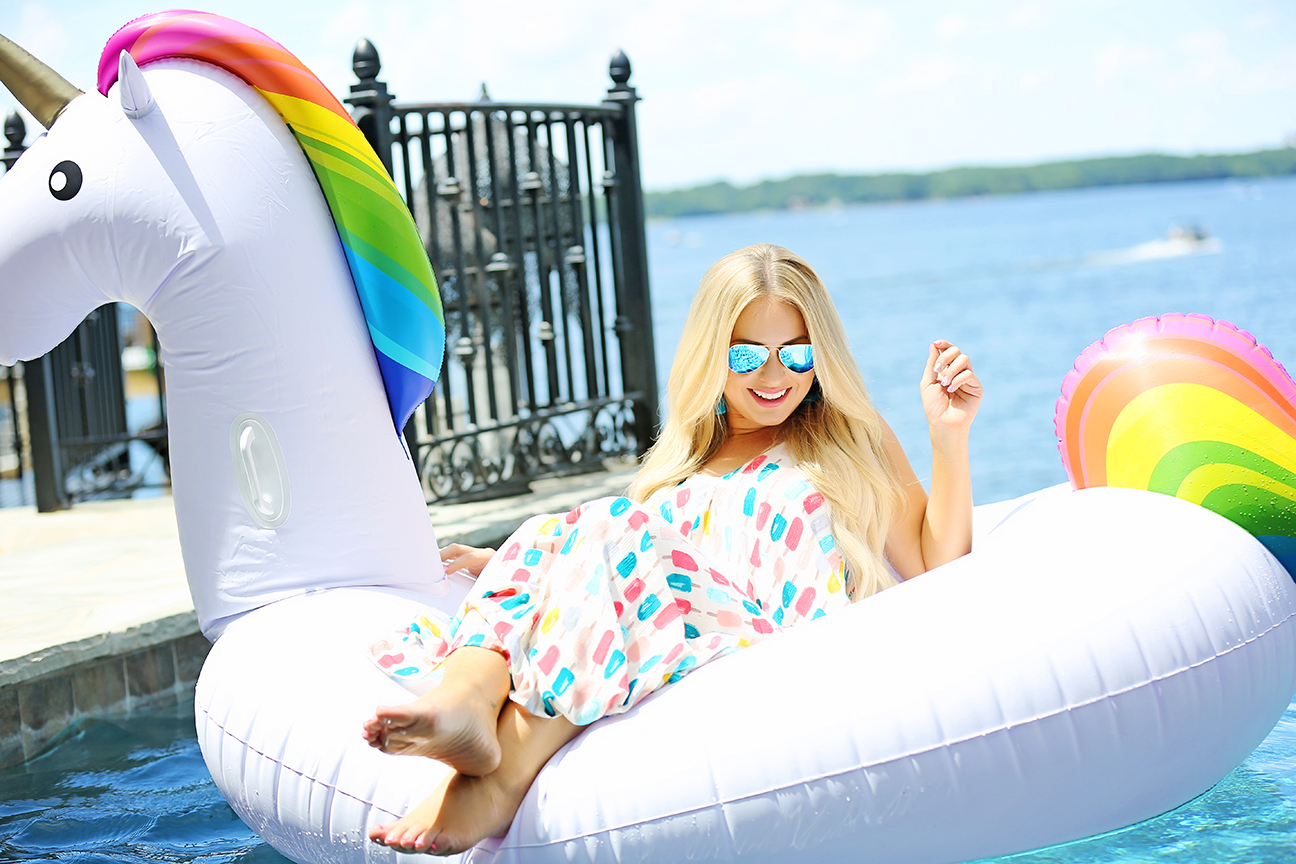 Unicorn Pool Float 2