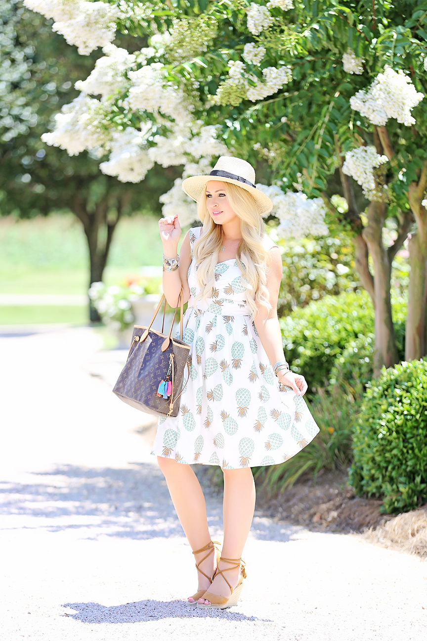 Pineapple Midi Dress 1