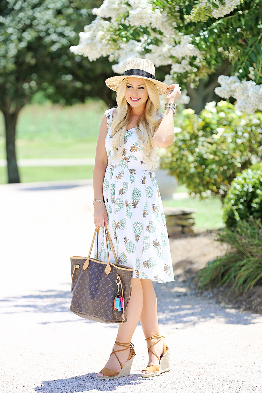 Pineapple Midi Dress 2