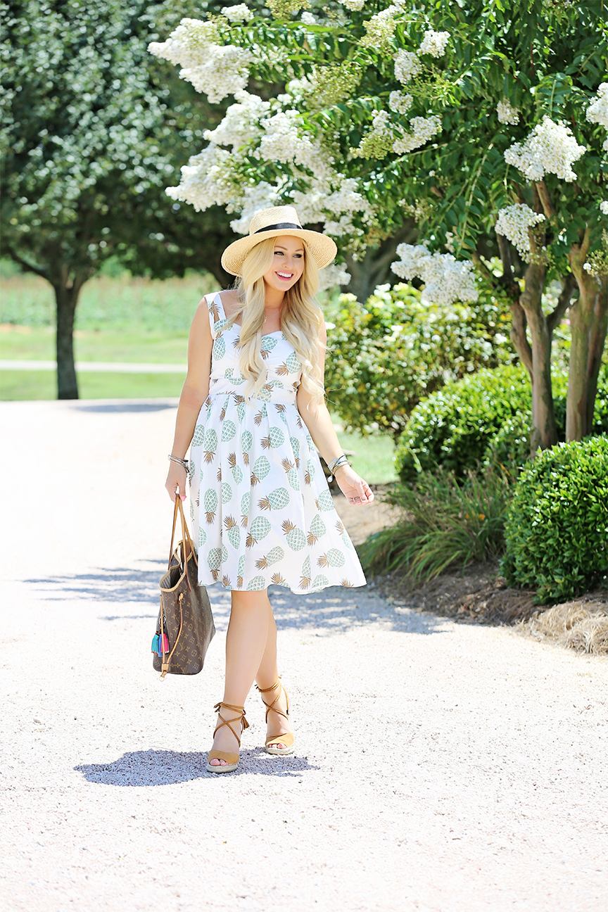 Pineapple Midi Dress 3