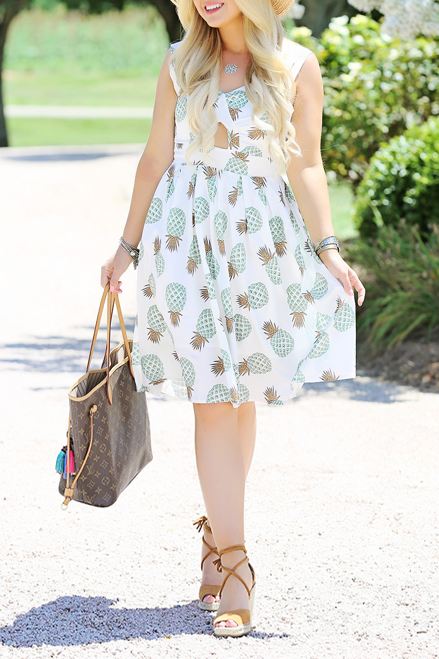 Pineapple Midi Dress 5