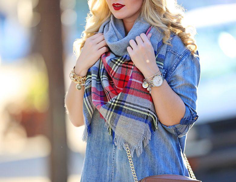 plaid-blanket-scarf