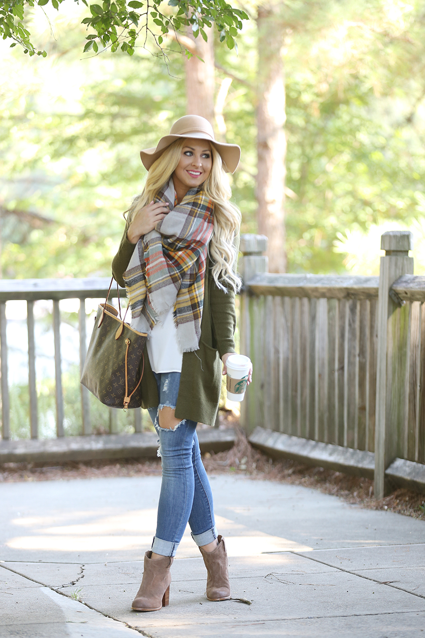 blanket-scarf-and-olive-cardigan-2
