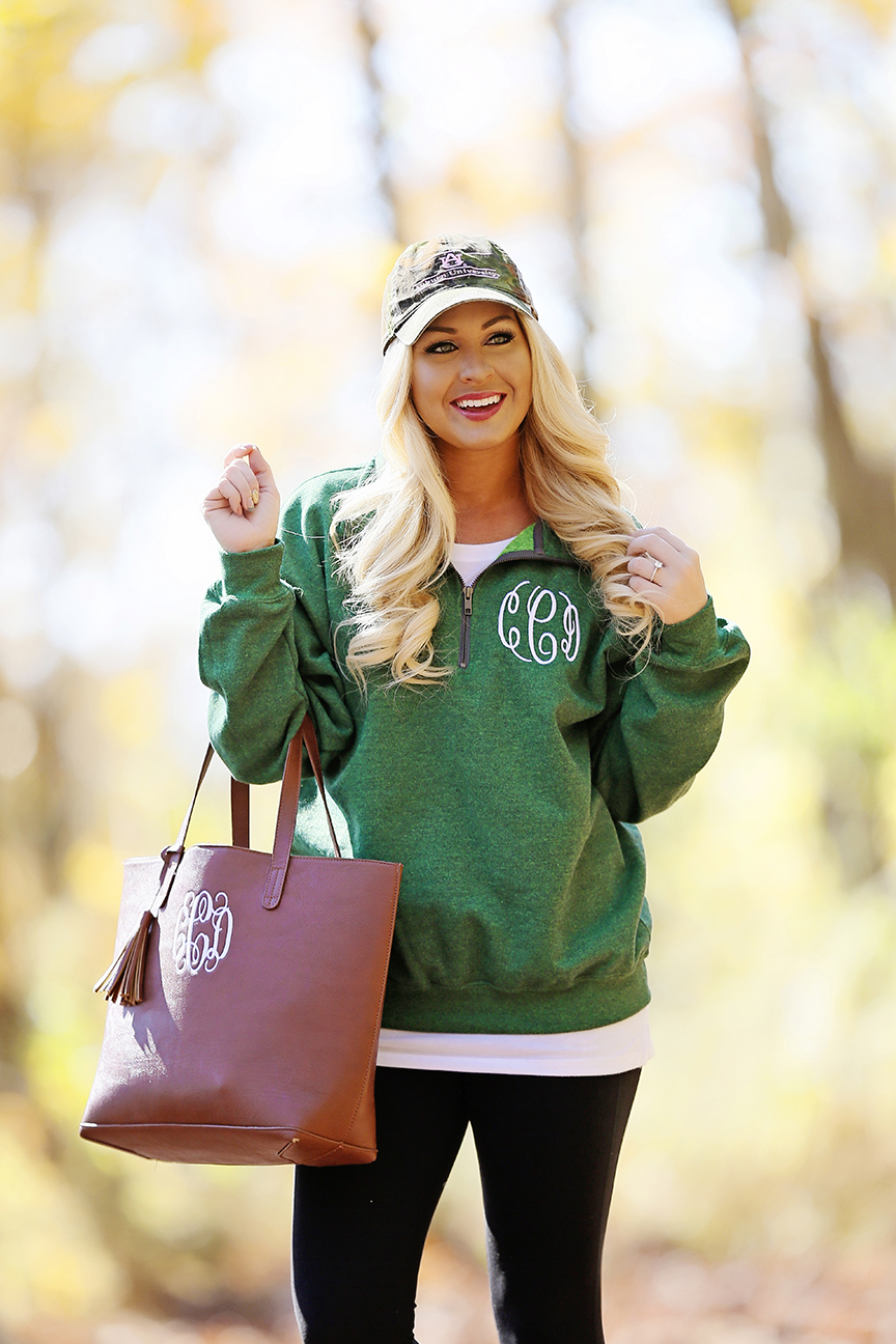 monogram-fleece-pullover