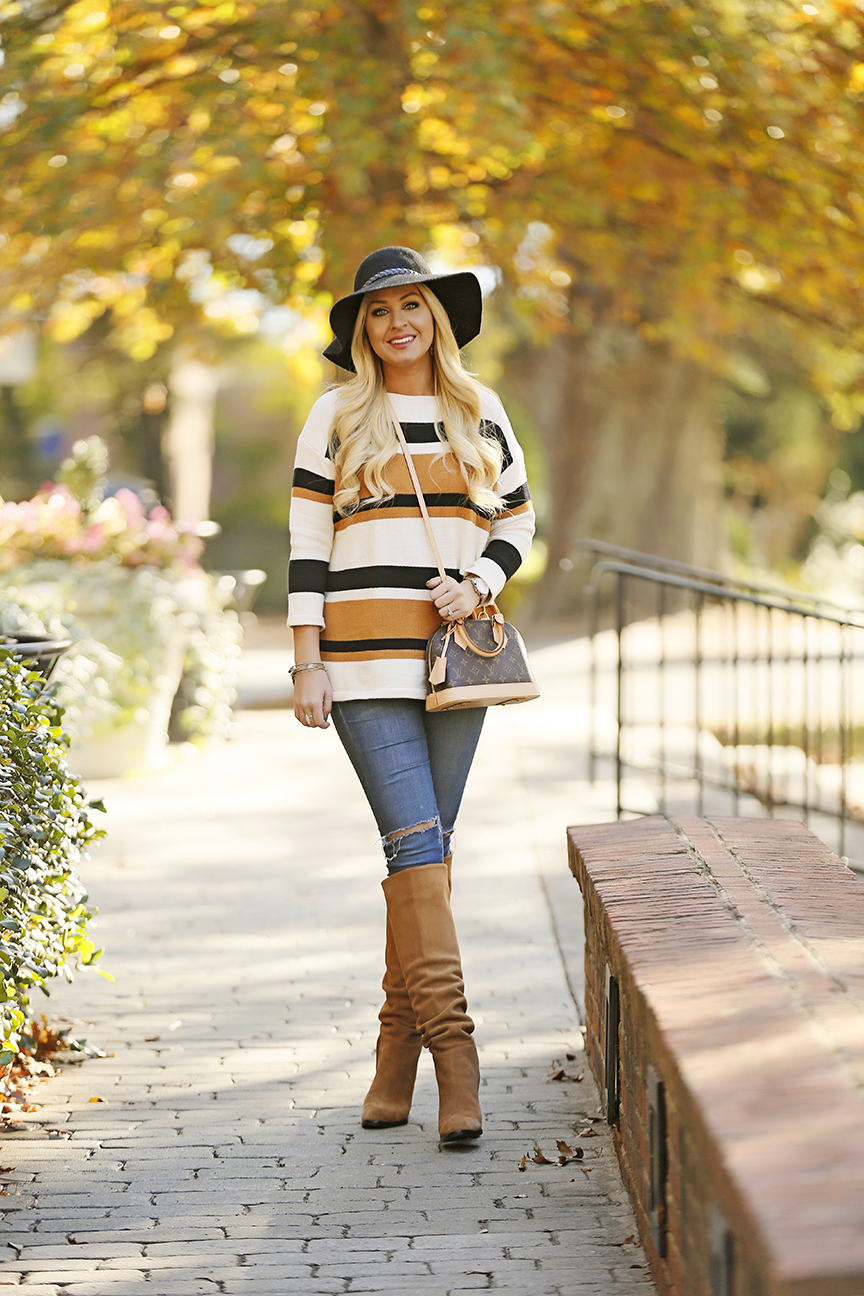 striped-sweater-sam-edelman-boots-louis-vuitton-alma-bb-3