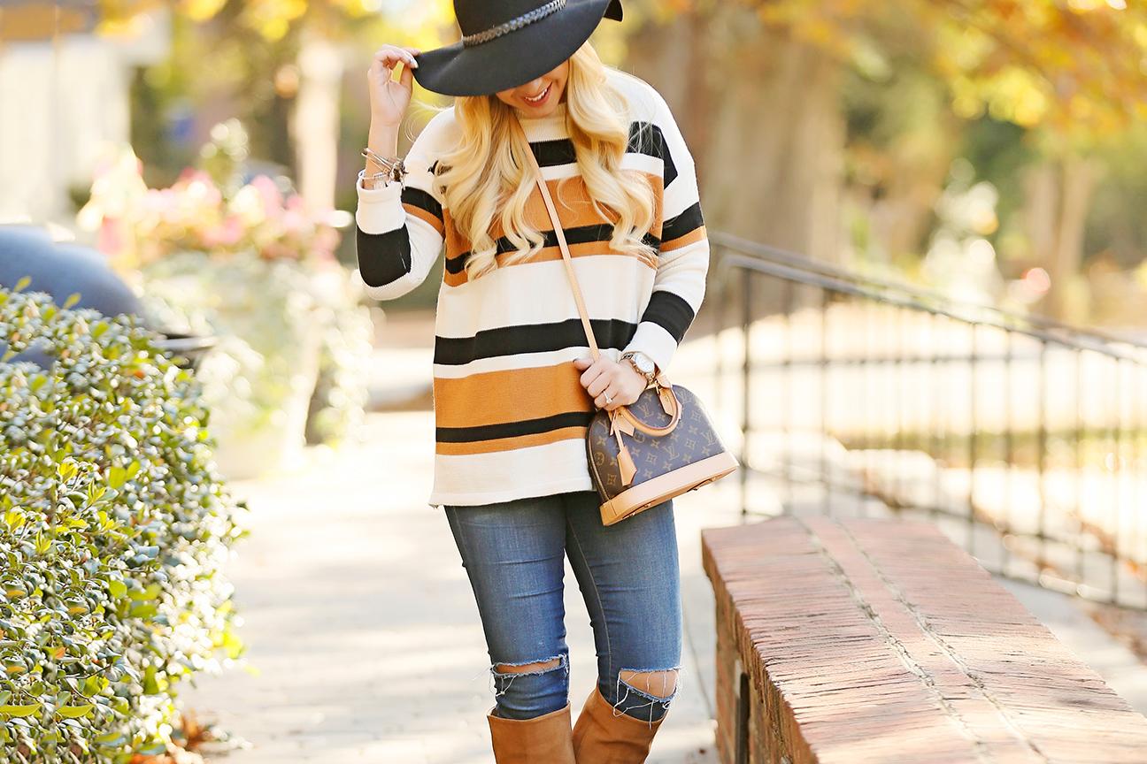 striped-sweater-sam-edelman-boots-louis-vuitton-alma-bb-5