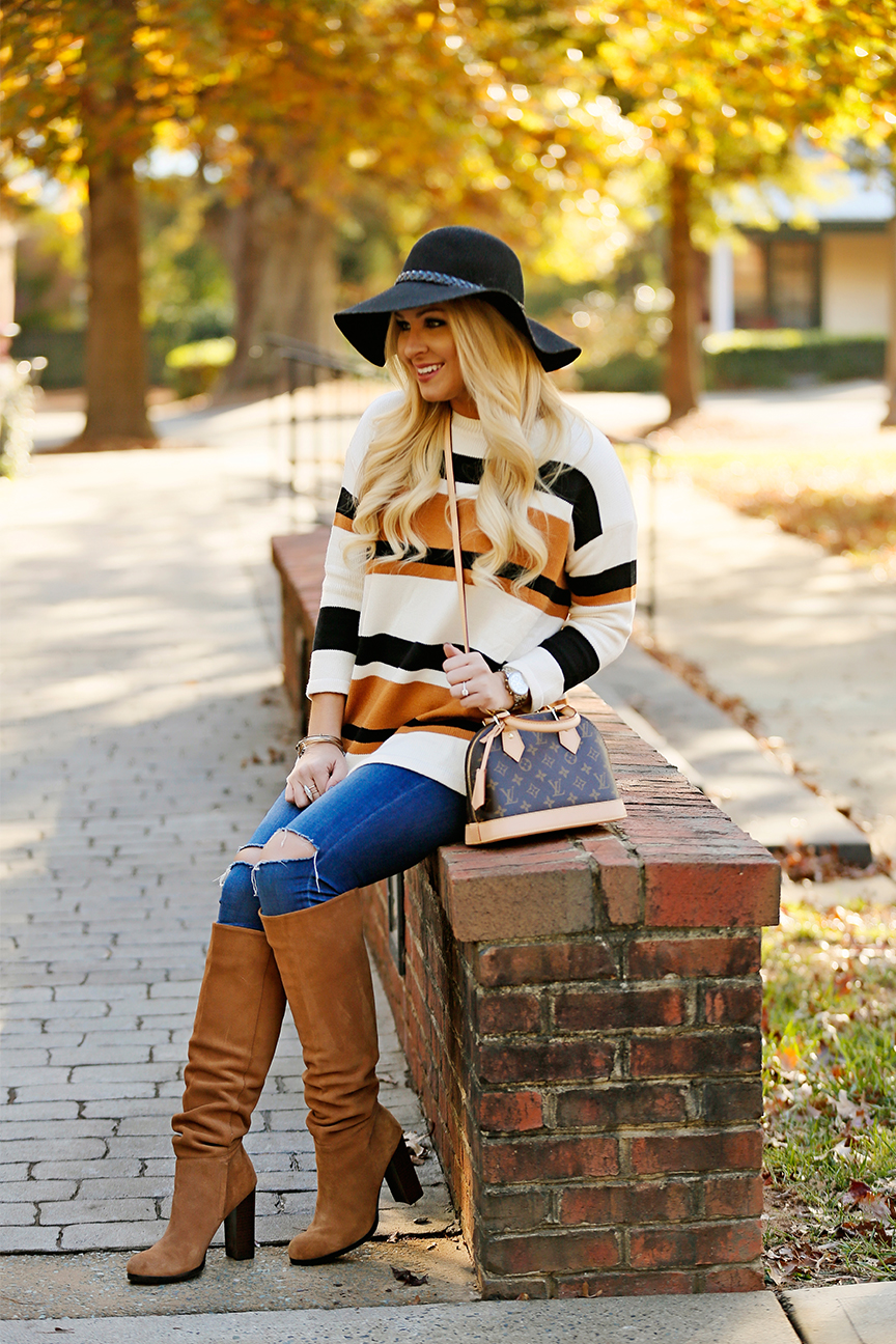 striped-sweater-sam-edelman-boots-louis-vuitton-alma-bb-6