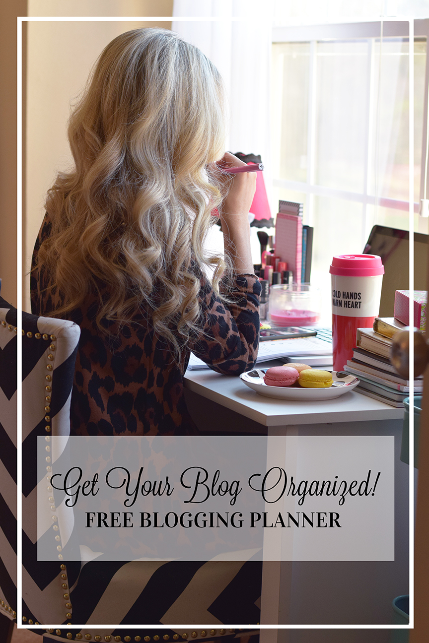 free-blogging-planner