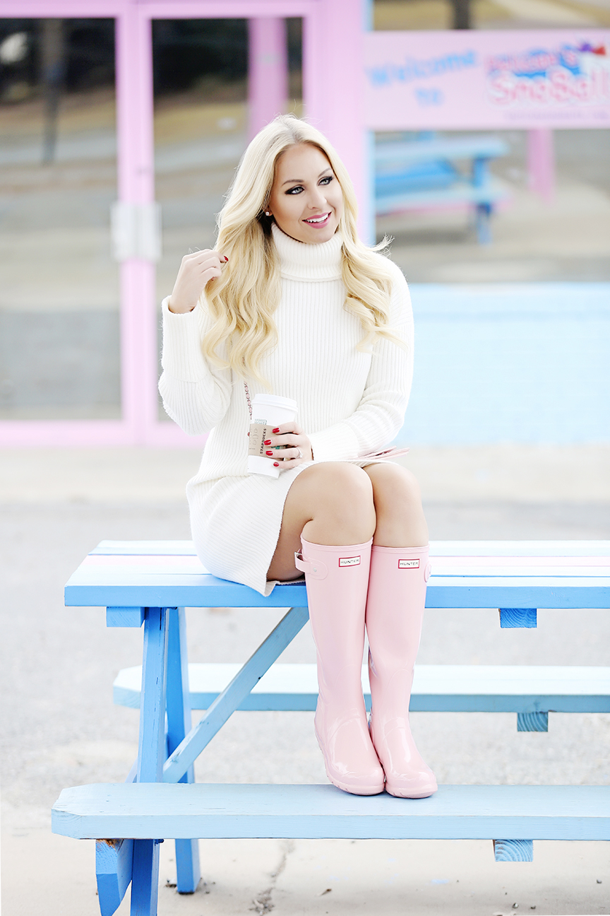 Pink Hunter Boots 4