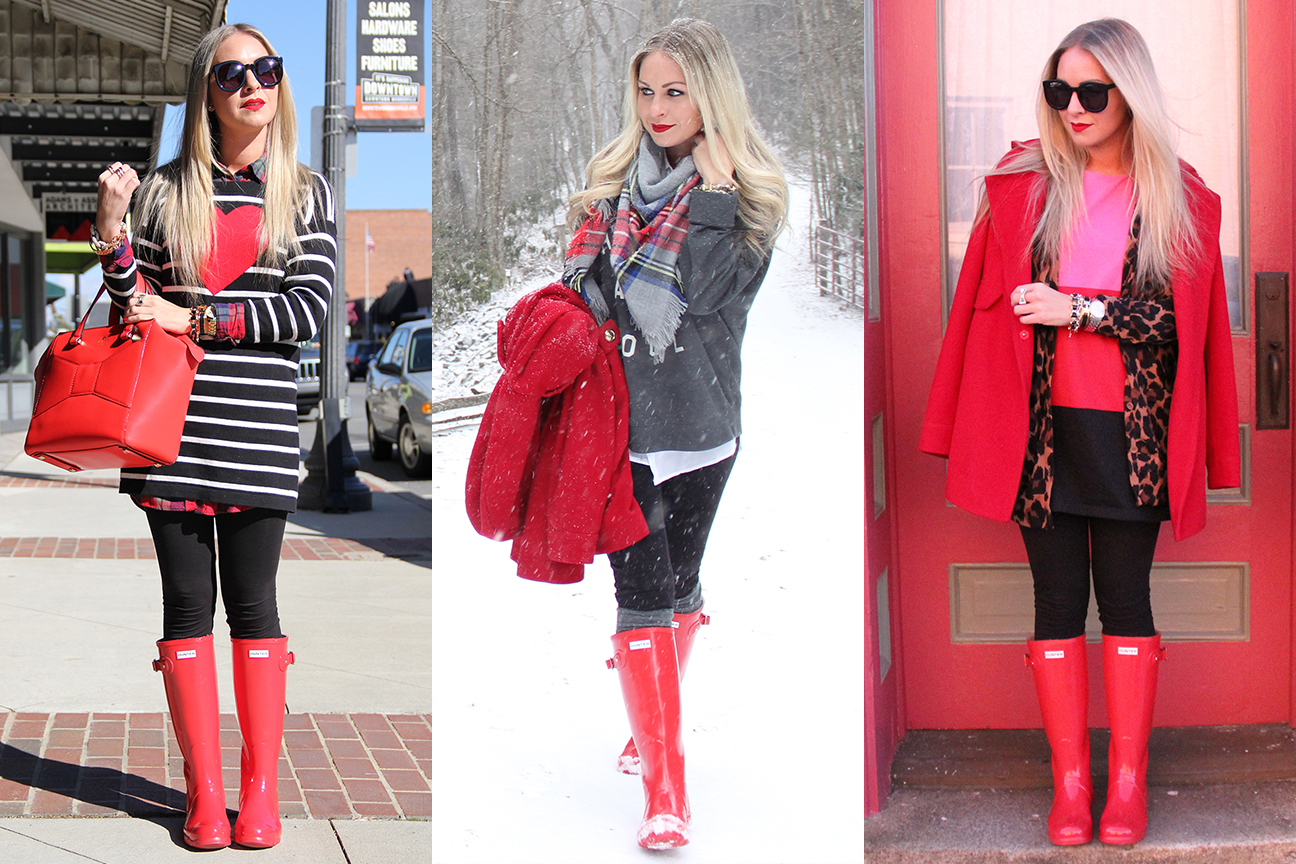 How To Style Hunter Boots Outfit Inspiration Cort In