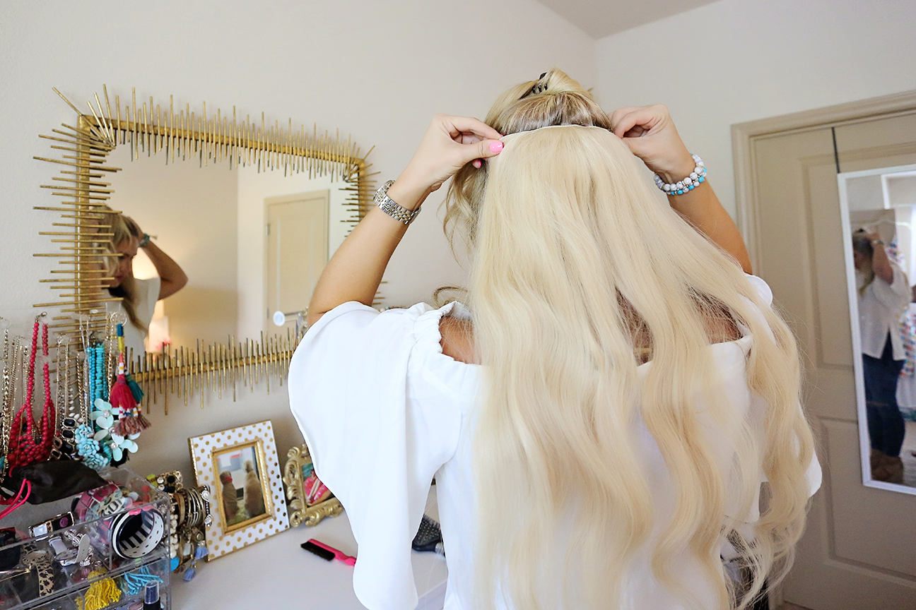 Qa How I Use My Bellami Hair Extensions Cort In Session