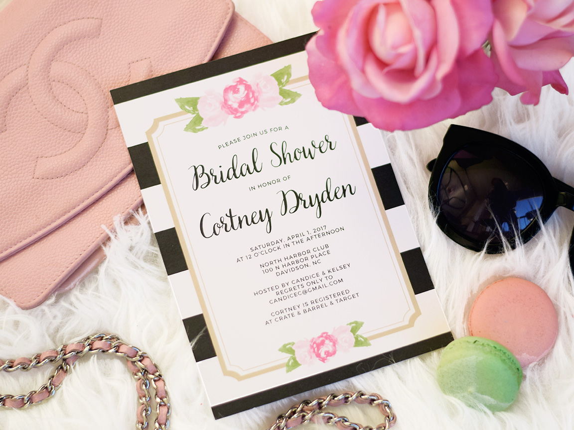 Bridal Shower Invitations - Cort In Session