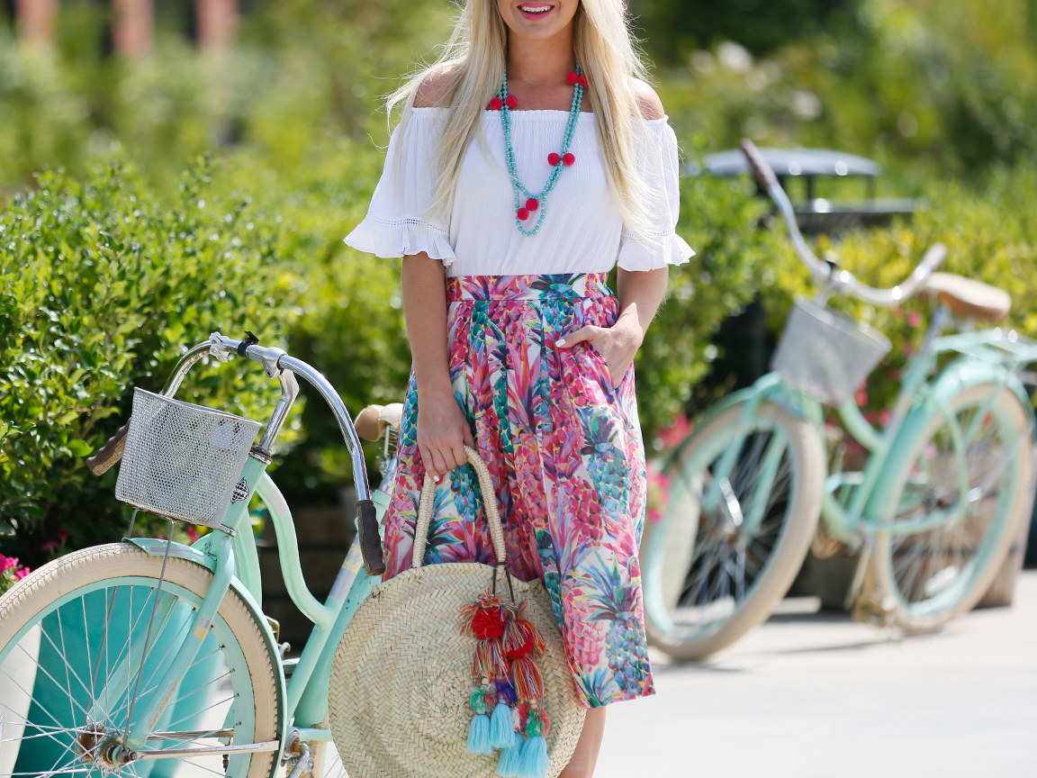 How To Style A Leopard Print Midi Skirt
